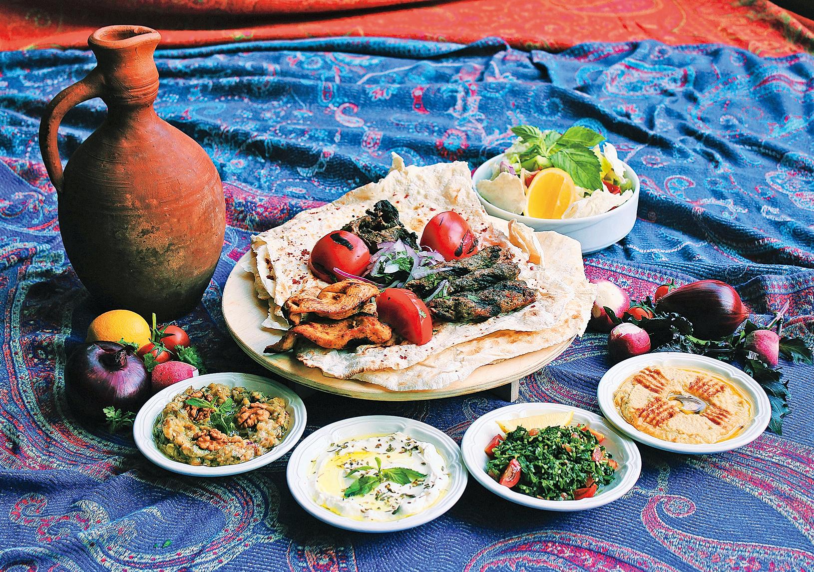 透過飲食了解中東文化,是個不錯的方法。
