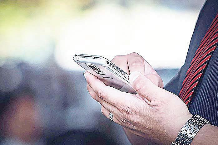智能手機如果死機,原因可能就是宇宙射線。(Pixabay)