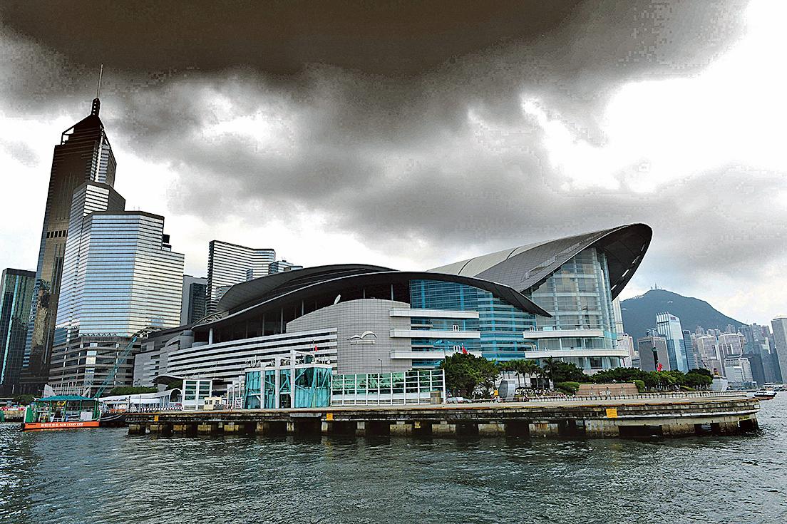 香港成中南海高層博弈主戰場。圖為香港會議展覽中心。(大紀元)