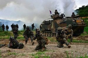 美韓大規模聯合軍演 檢視制衡北韓的軍力