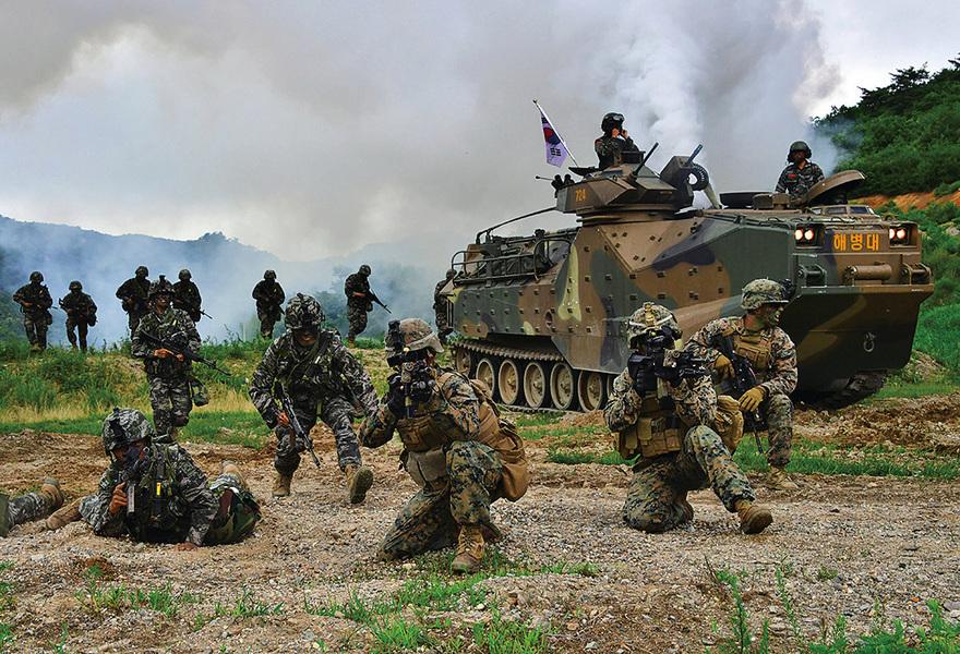 制衡北韓軍力 美韓大規模聯合軍演
