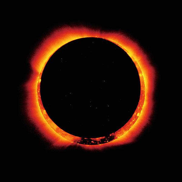 火之環 2017首個日食奇觀
