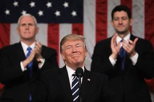 特朗普國會演說反應佳 推文數破紀錄