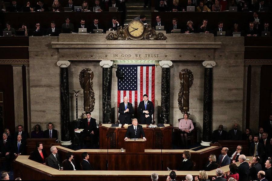 特朗普國會演說 美國民眾如何看?
