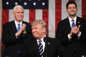 彭斯:國會演說時的特朗普就是我每天看到的他