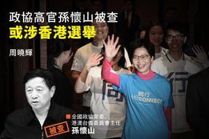 周曉輝:政協高官孫懷山被查 或涉香港選舉
