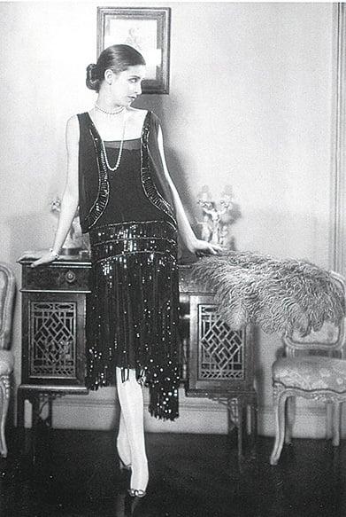 Coco Chanel 1926年的小黑裙。(網絡圖片)