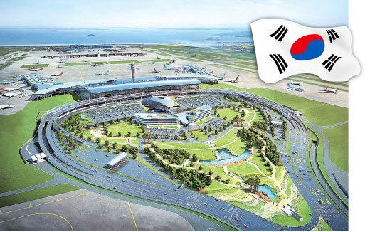 仁川機場第二航站樓繪圖。(newsis提供)