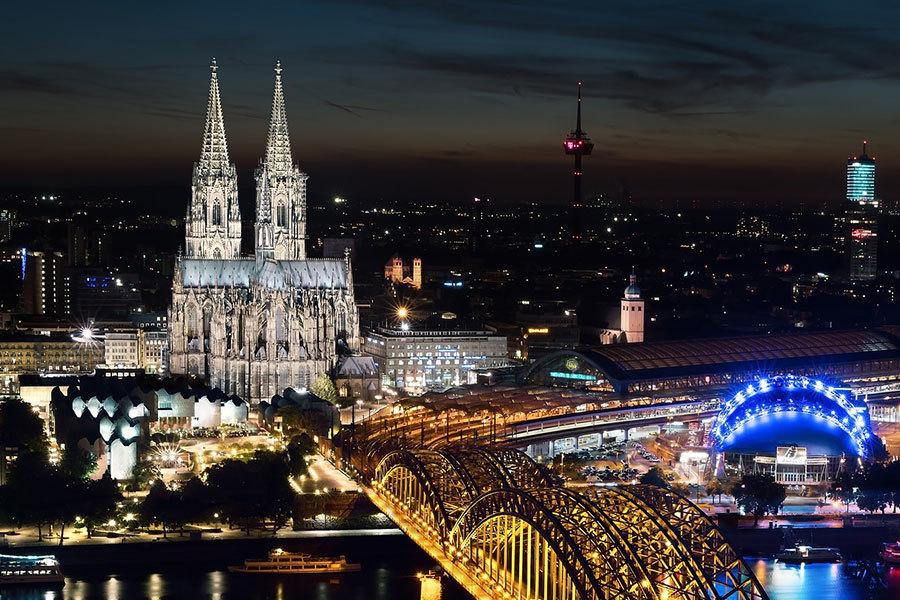 德國科隆大教堂。(Pixabay)