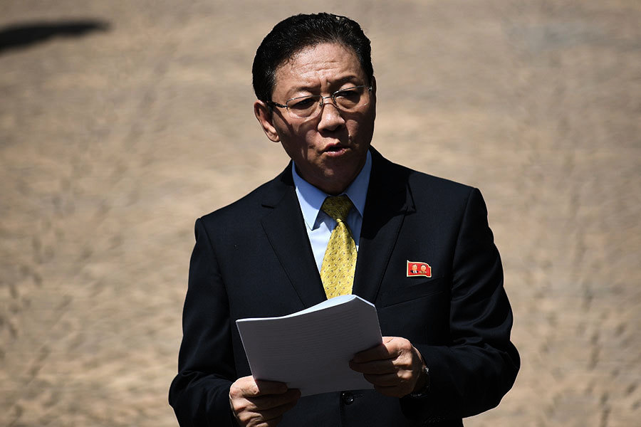 駐大馬北韓大使下午驅車離開大使館