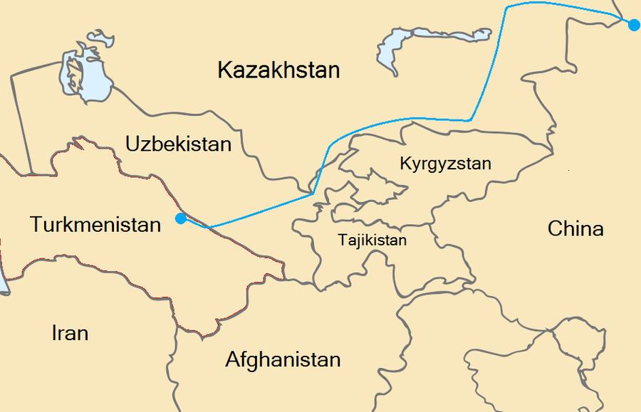 烏茲別克凍結中國天然氣管道項目