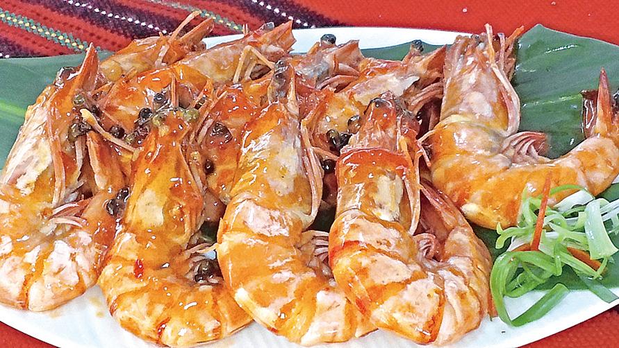 馬告酸辣鮮蝦