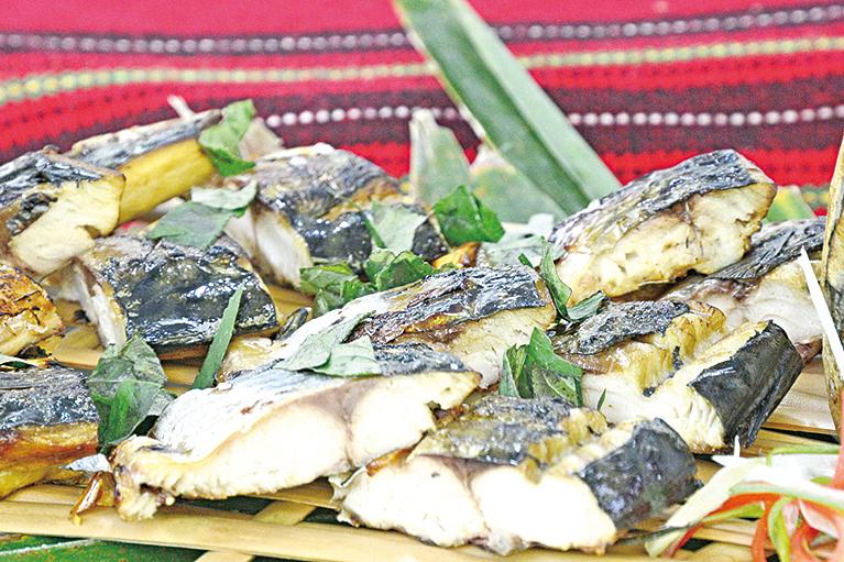 刺蔥烤鯖魚