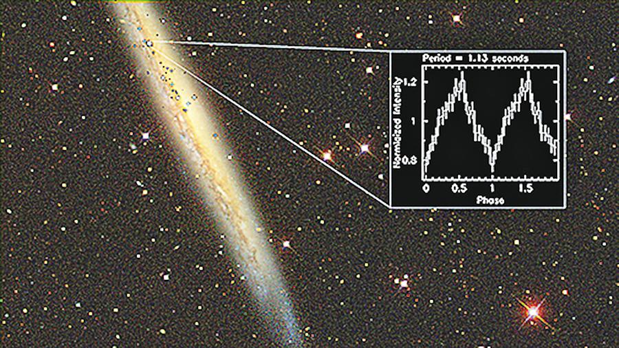 神秘宇宙燈塔超亮脈衝星現身