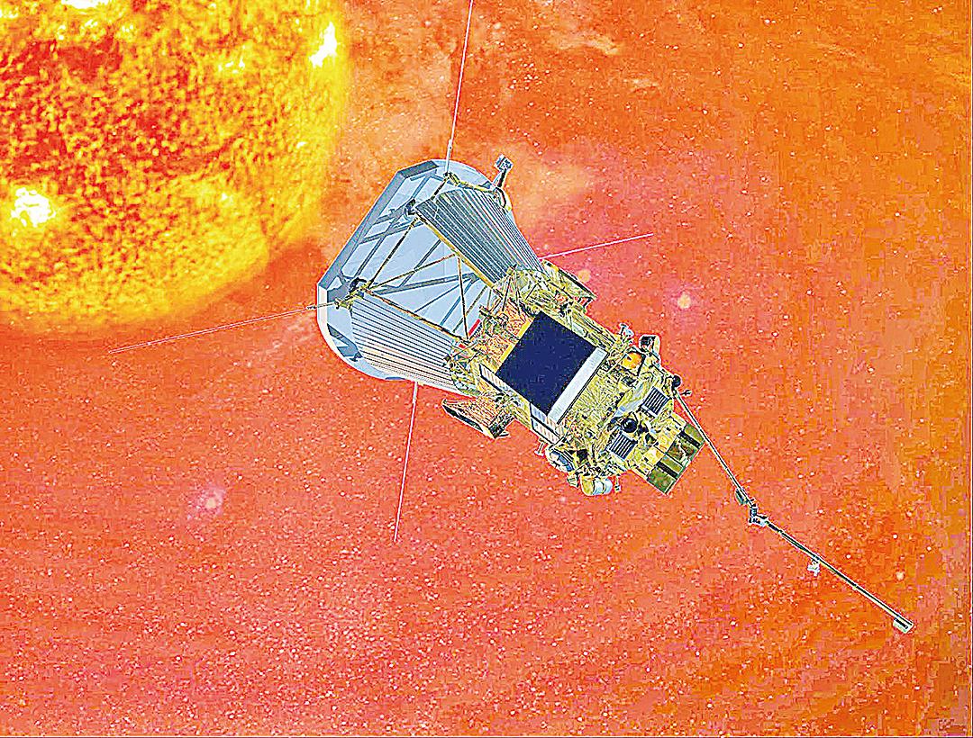 「太陽探測器+」尚不能登陸太陽表面,但會以儘可能近的距離蒐集太陽的數據。(維基百科)