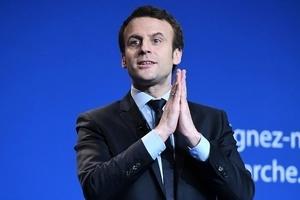 法國大選 馬克隆終於亮出競選政綱