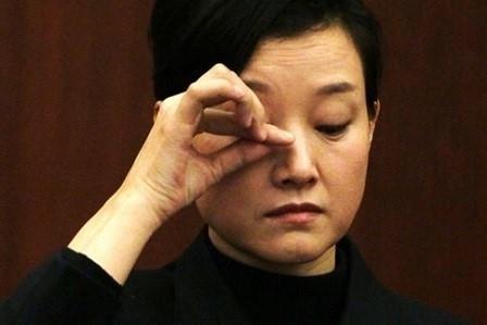 江澤民姘婦宋祖英今年在中共政協會議上非常低調。(網絡圖片)
