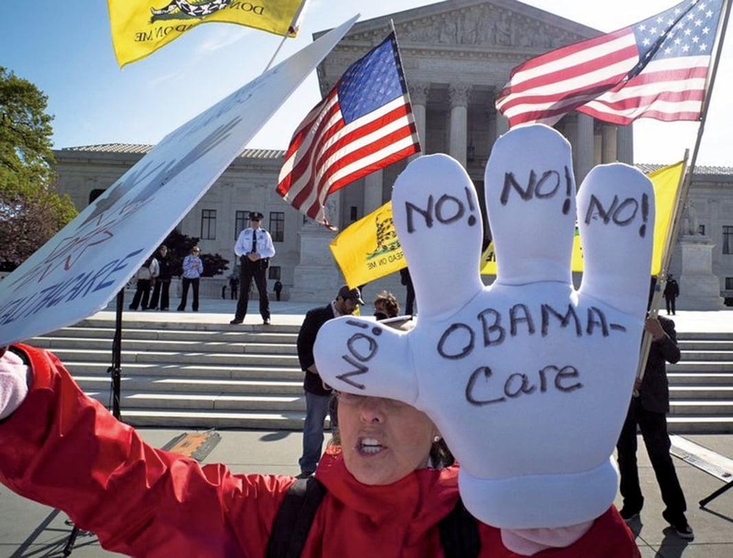 特朗普2月23日表示,需要在完成奧巴馬健保的改革之後,才會推出稅務改革。(Getty Images)