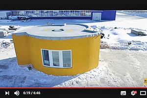俄羅斯房屋3D列印 24小時完工