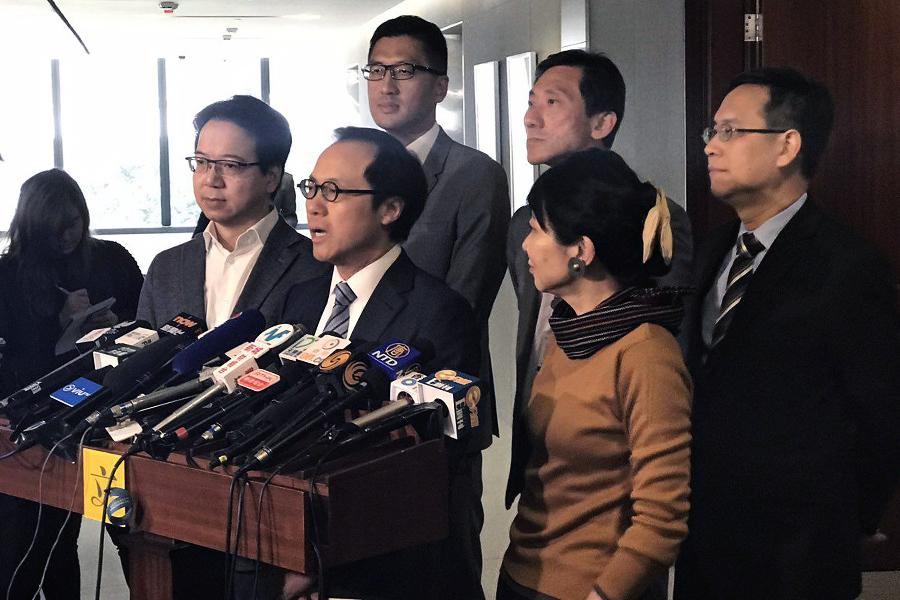 梁繼昌:梁振英入稟告議員誹謗開壞先例