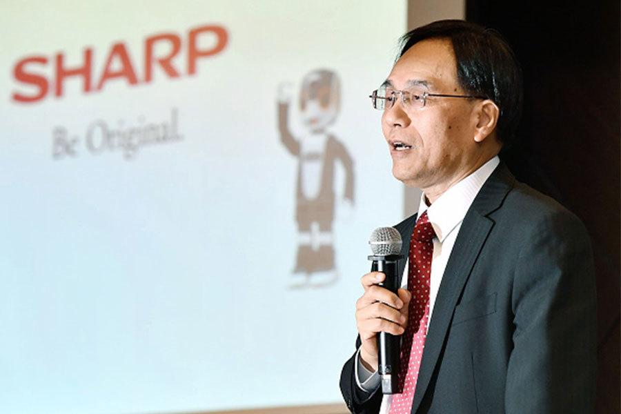 夏普被併購到鴻海旗下之後,由鴻海集團的副總裁戴正吳出任社長。(Getty Images)