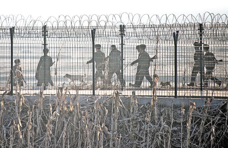 朝鮮半島局勢緊張,圖為北韓邊境。(Gettyimages)