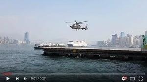 直升機旋翼不轉卻能飛? 攝影造成的錯覺