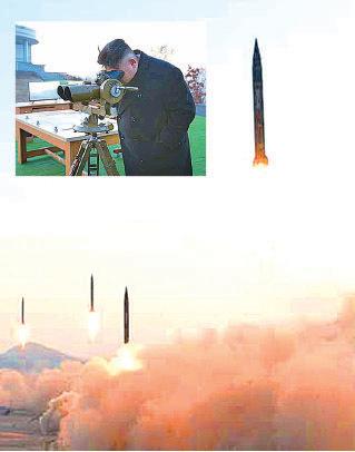 北韓早前發射4枚飛彈,令朝鮮半島局勢再次緊張。據報,美國導彈防禦系統「薩德」的部份設備已經運抵,南韓當局稱有關系統最快4月可以服役。(大紀元資料圖片)