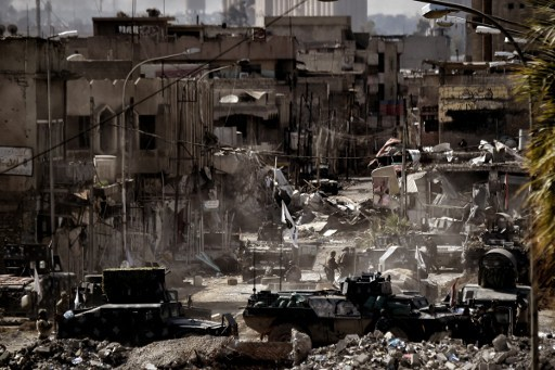 伊軍再擊敗IS 奪回摩蘇爾關鍵建築