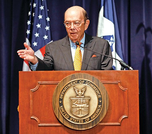 美國商務部長羅斯指,通過對中興的懲罰,美國正警告世界:不正當的貿易遊戲已經終結。
