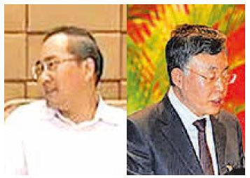 中共前廣西南寧市委書記余遠輝(左)和中共前遼寧省政法委書記蘇宏章(右)被提起公訴。(網絡圖片)