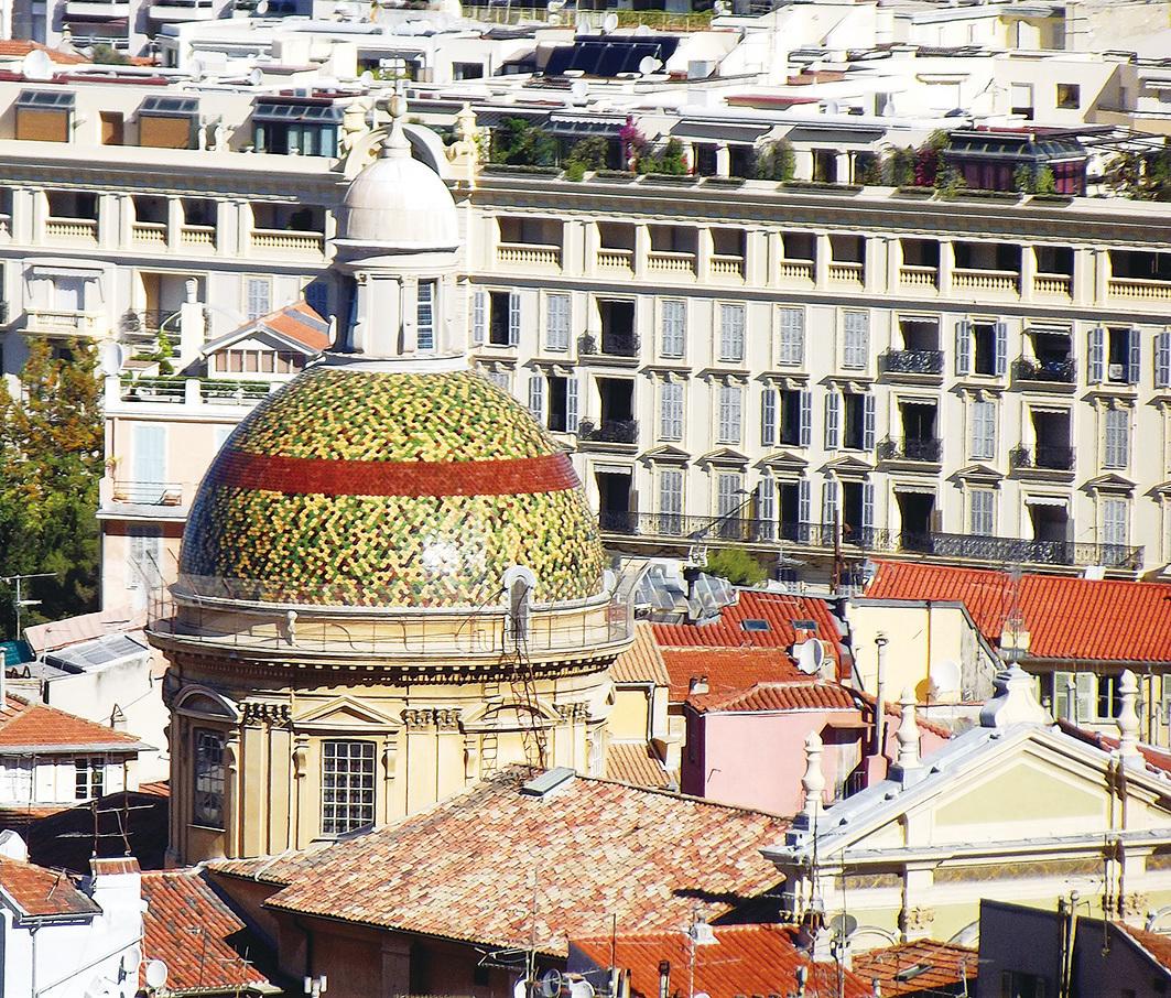 尼斯聖雷帕拉塔主教座堂圓頂。(維基百科)