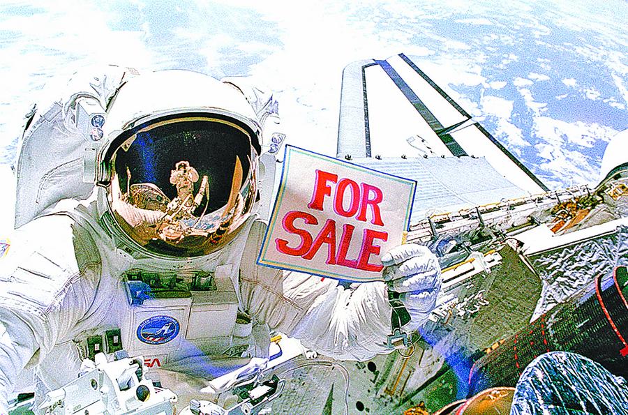 遨遊太空夢成真 SpaceX明年送兩人到月球