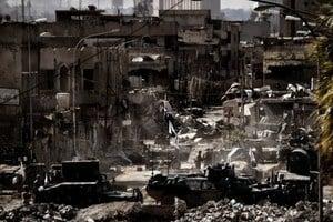 節節敗退 IS最大頭目或逃離摩蘇爾藏身沙漠
