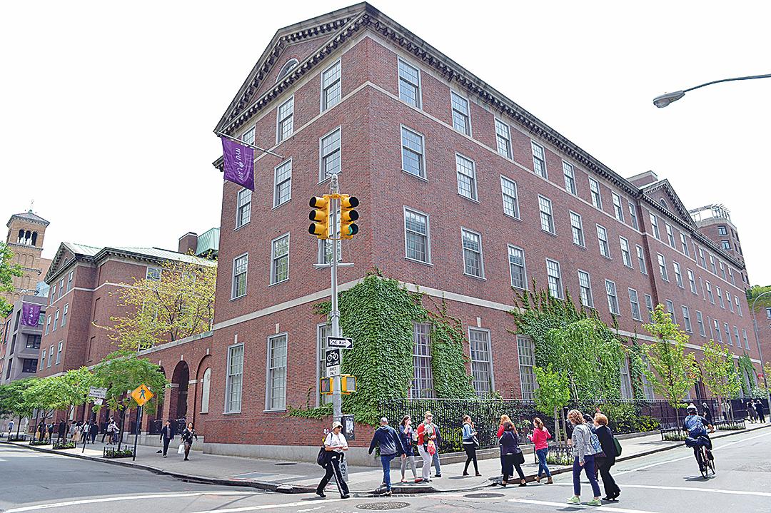 紐約大學已經成為全美國境內規模最大的私立非牟利高等教育機構。圖為紐約大學法學院。(AFP/GettyImages)