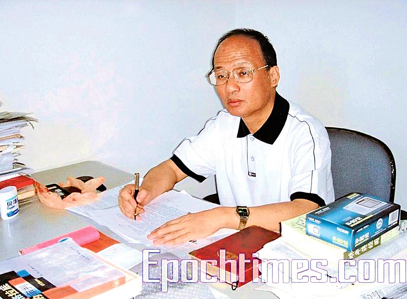 上海著名人權律師鄭恩寵。(大紀元資料室)