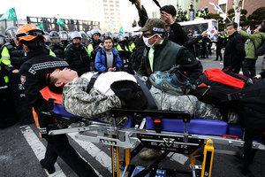 朴槿惠遭彈劾 韓民眾爆衝突已造成二死