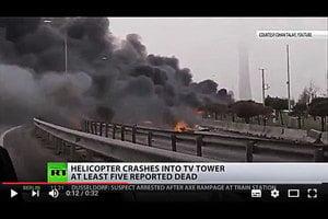 土耳其直升機墜毀公路釀七死 包括四俄國人