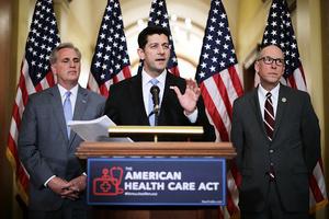 特朗普健保法案 眾議院闖過頭兩關