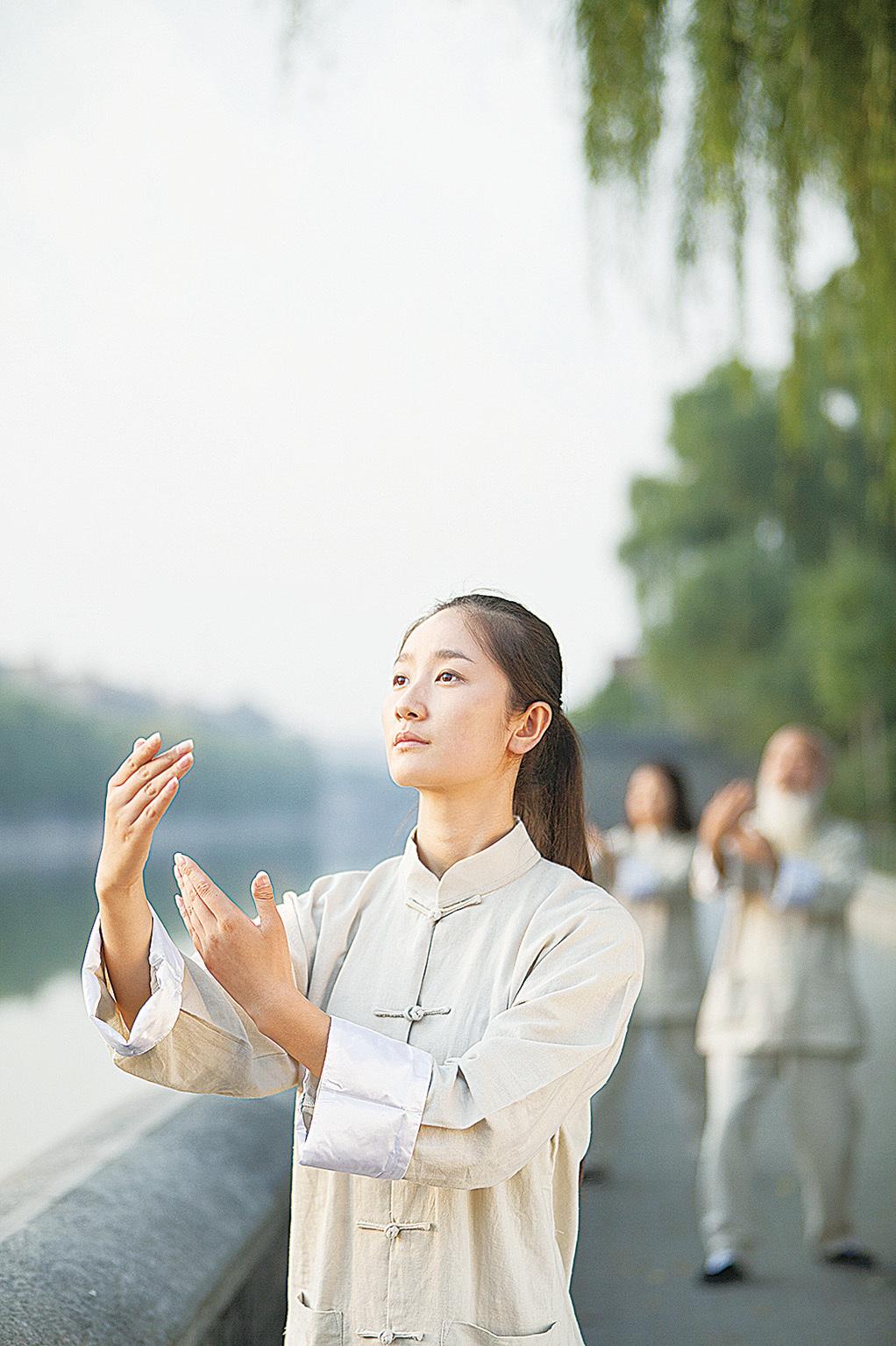 張三豐說,學太極拳,是為了給修道打基礎,而修道則以修心煉性為主。(shutterstock)