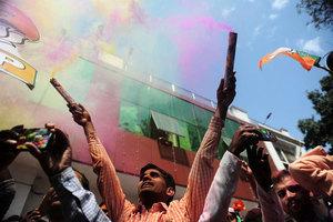 印度五邦選舉 莫迪領導的人民黨大勝