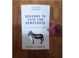 嘲諷美民主黨的無字書 登亞馬遜暢銷書榜首