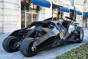 圖片新聞:北京現「蝙蝠車」引圍觀拍照