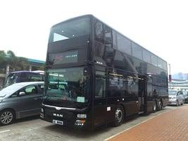 【圖片新聞】坐水晶巴士嘆米芝蓮點心遊香港