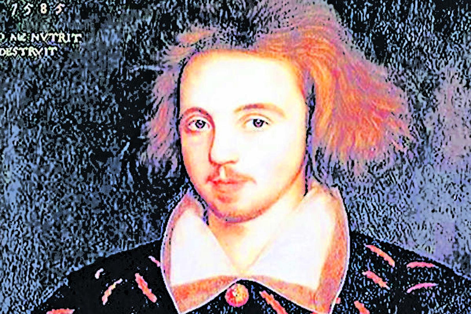 克里斯托弗•馬洛畫像 (維基百科公共領域)