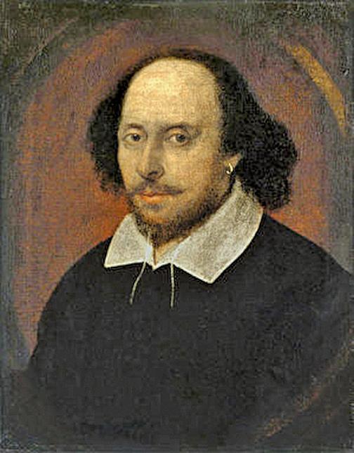 莎士比亞。 (維基百科)
