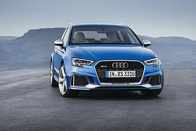 奧迪RS 3 Sportback。(Audi)