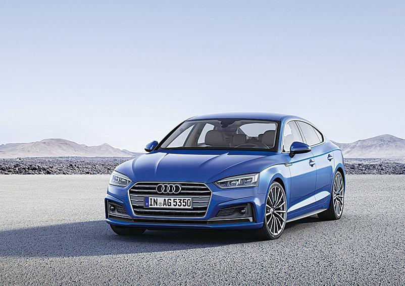 奧迪A5 Sportback g-tron。(Audi)
