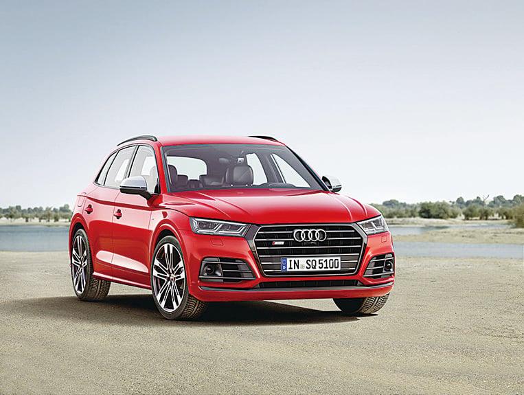 搭載V6發動機的奧迪SQ5 TFSI。(Audi)