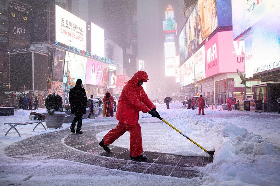 美東暴風雪 紐約新澤西等多州進入緊急狀態